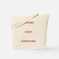 Support Haiti Survivors Tote Bag