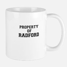 Property of RADFORD Mugs
