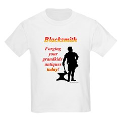 Forging Grandkids Antiques T-Shirt