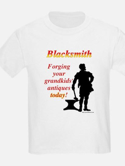 Forging Grandkids Antiques T-Shirt