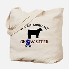 Show Steer Tote Bag