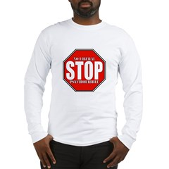 No Liberal Psychobabble Conservative Long Sleeve T