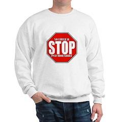 No Liberal Psychobabble Conservative Sweatshirt
