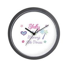 Shelby - Mommy's Little Princ Wall Clock
