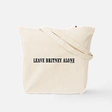 Leave Britney Alone Tote Bag