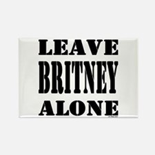 Leave Britney Alone Rectangle Magnet