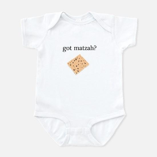 got matzah? Infant Bodysuit