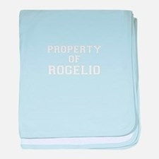 Property of ROGELIO baby blanket