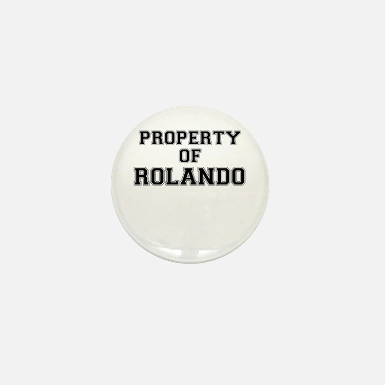 Property of ROLANDO Mini Button