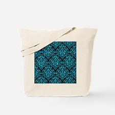 DMS1 BK-TQ MARBLE Tote Bag