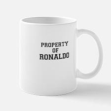 Property of RONALDO Mugs