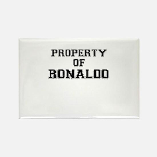 Property of RONALDO Magnets