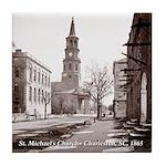 St. Michael's Church, Charleston SC Tile Coaster