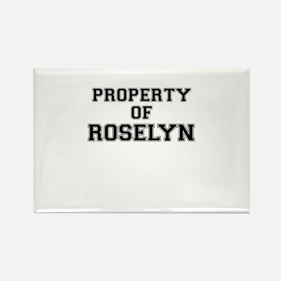 Property of ROSELYN Magnets