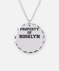 Property of ROSELYN Necklace