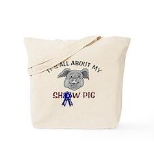 Show Pig Tote Bag