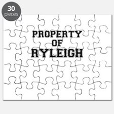 Property of RYLEIGH Puzzle