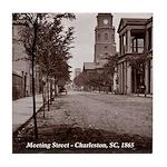 Meeting Street, Charleston SC Tile Coaster
