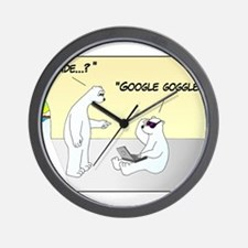 GOOGLE GOGGLES Wall Clock