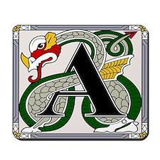 Celtic Dragon Art A Mousepad