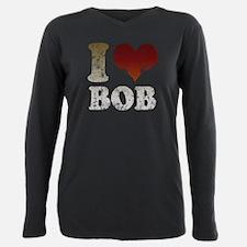Unique I love bob Plus Size Long Sleeve Tee