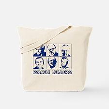 israel leaders Tote Bag