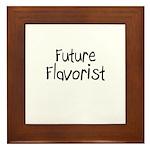 Future Flavorist Framed Tile