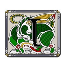 Celtic Dragon Art I Mousepad