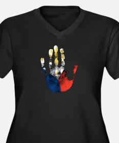 PINOY HAND Plus Size T-Shirt