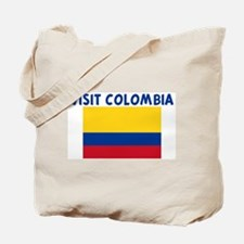 VISIT COLOMBIA Tote Bag