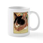 CURIOUS KITTY CAT Mug