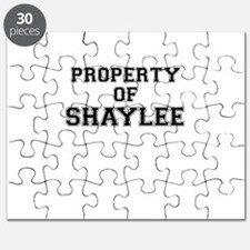Property of SHAYLEE Puzzle