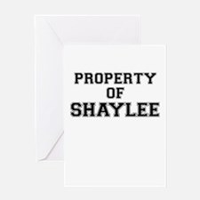 Property of SHAYLEE Greeting Cards