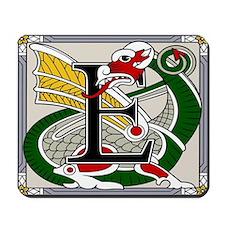 Celtic Dragon Art E Mousepad