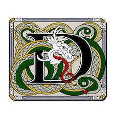 Celtic Dragon Art D Mousepad