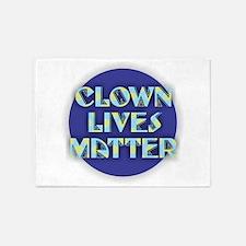 Clown Lives 5'x7'Area Rug