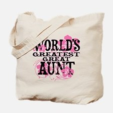 Great Aunt Tote Bag