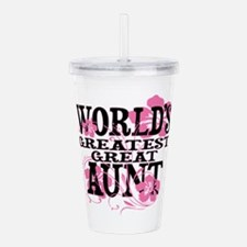 Great Aunt Acrylic Double-wall Tumbler