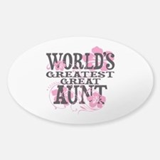 Great Aunt Sticker (Oval)