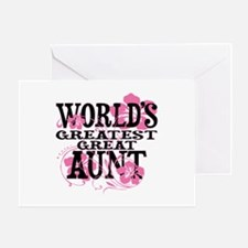 Great Aunt Greeting Card