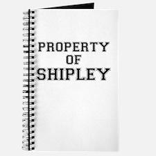 Property of SHIPLEY Journal