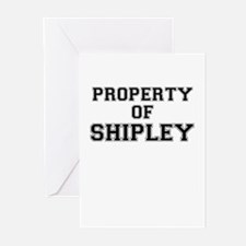 Property of SHIPLEY Greeting Cards