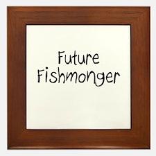Future Fishmonger Framed Tile