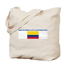 MADE IN AMERICA WITH COLOMBIA Tote Bag