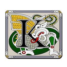 Celtic Dragon Art K Mousepad