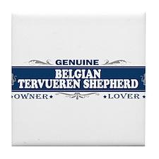 BELGIAN TERVUEREN SHEPHERD Tile Coaster