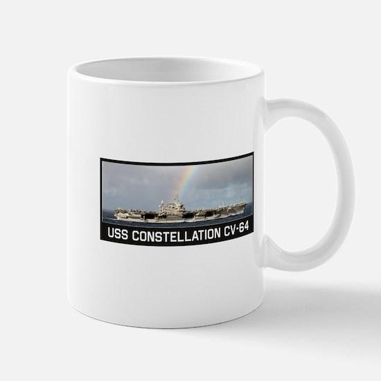 USS Constellation CV-64 Mugs