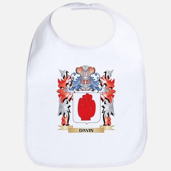 Davin Coat of Arms - Family Crest Bib