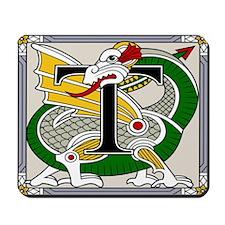 Celtic Dragon Art T Mousepad