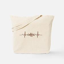 COFFEE HEARTBEAT Tote Bag